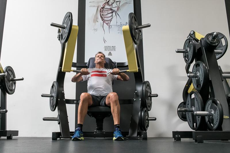Armin Assinger beim Sport